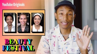 Founder Of Humanrace Pharrell Williams Goes Live With YouTube Originals' First Beauty Festival 🥳