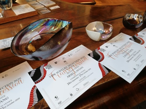 The certificate for the awards winners at the competition
