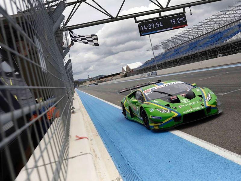 Lamborghini - International GT Open - Paul Ricard - Vincenzo Sospiri Racing