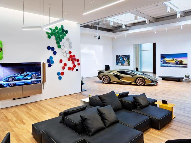 Lamborghini Lounge NYC - Sián