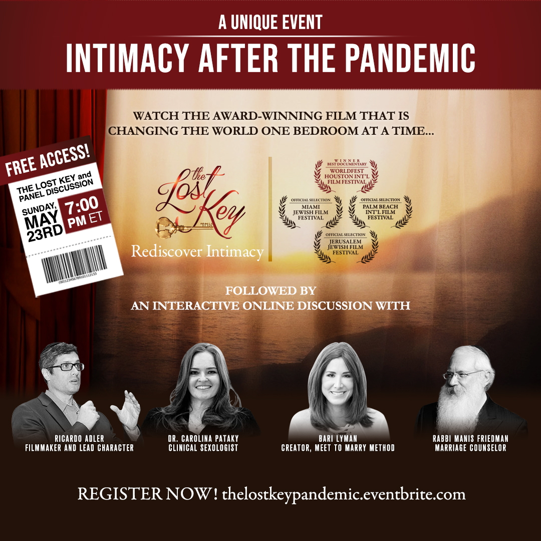 Award-Winning Film The Lost Key Offers Free Screening as It Sets the Mood for a LIVE Panel Discussion About Intimacy After the Pandemic