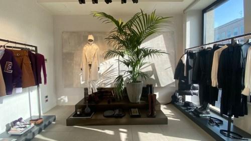 The interiors of Eleventy's showroom in Milano