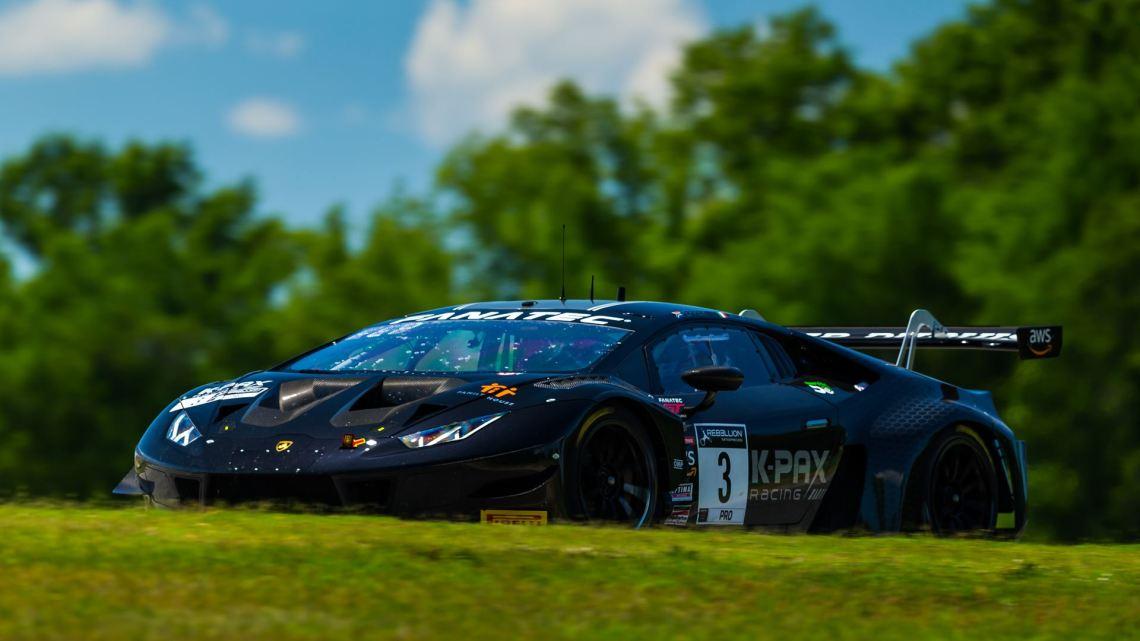 Lamborghini Huracán GT3 EVO - GT World Challenge America - VIR (1)