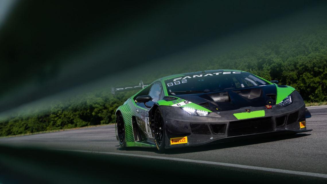 Lamborghini Huracán GT3 EVO - GT World Challenge America - VIR (2)