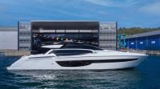 Riva 76' Perseo Super launched in La Spezia