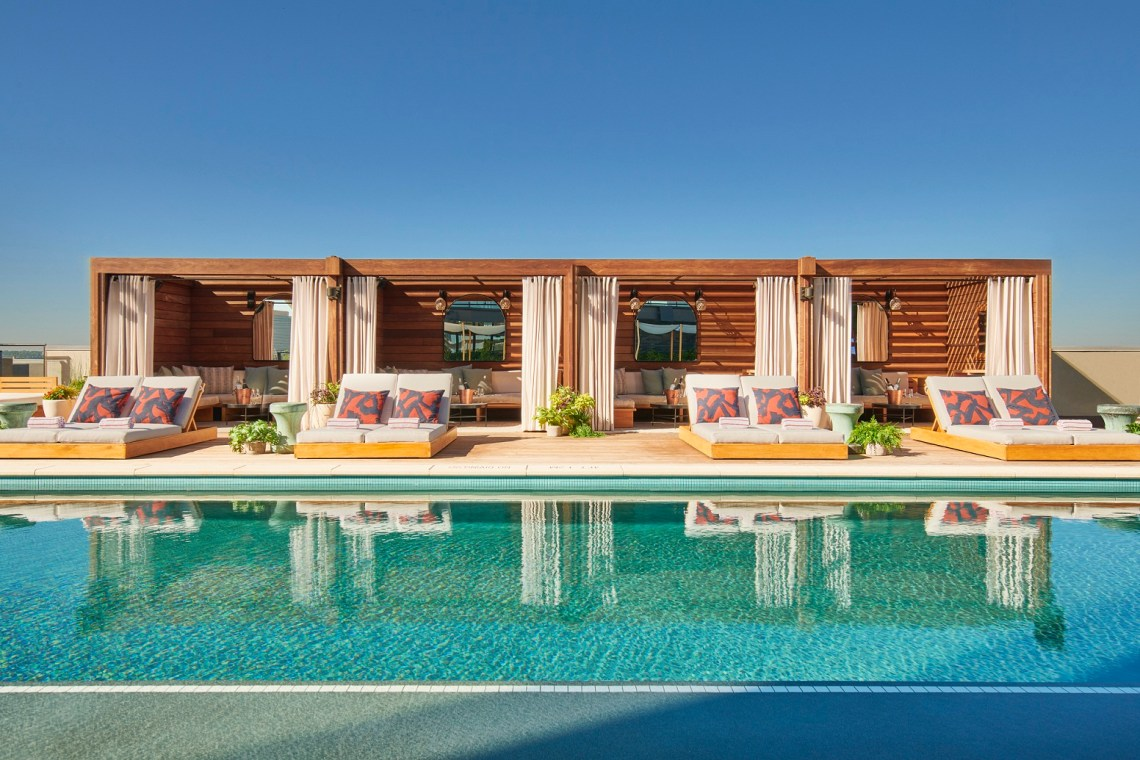 The Pool Club - Pool Deck Cabanas
