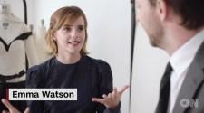 Emma Watson dons dress made of this (Met Gala 2016)