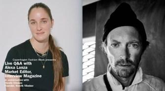 Live Q&A Henrik Vibskov and Alexa Lanza, Interview Magazine