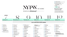 New York Fashion Week - NYFW The Shows - September 2021 Schedule