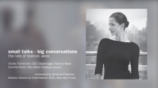 Small Talks - Big Conversations: The Role Of Fashion Week