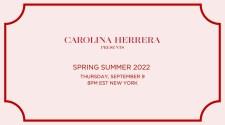 Carolina Herrera Spring Summer 2022