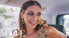 Emma Chamberlain Gets Ready for the Met Gala