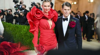 Karlie Kloss And Wes Gordon Attend The 2021 Met Gala
