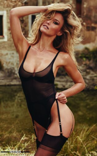 Agent Provocateur SS16 - Sizzling Campaign with Supermodel Bar Refaeli 9