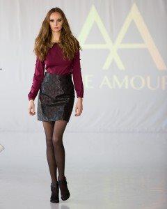 Ane Amour New York Fashion Week Runway Show 13