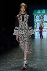 Anna Sui SS17 Collection at New York Fashion Week 7