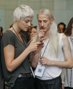 The Arts Institute Backstage NYFW FW16 9