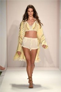 Beach Freedom Glides Gorgeously Down the Runway at SWIMMIAMI 57