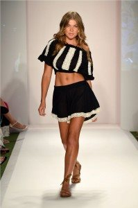 Beach Freedom Glides Gorgeously Down the Runway at SWIMMIAMI 55