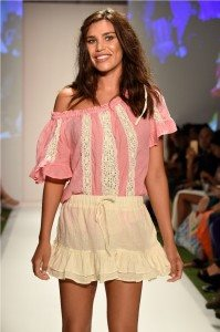 Beach Freedom Glides Gorgeously Down the Runway at SWIMMIAMI 17