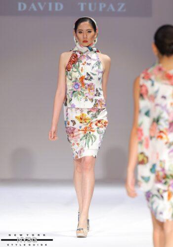 David Tupaz runway show at Style Fashion Week 17