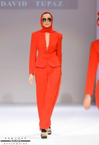 David Tupaz runway show at Style Fashion Week 23