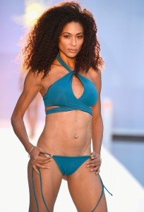 Filthy Haanz Takes Swim Week on a Jewel-Toned Journey 29