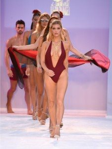 Filthy Haanz Takes Swim Week on a Jewel-Toned Journey 5