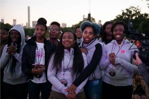 Googles Made with Code at the Global Citizen Festival 29