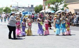 The 34th Annual Mermaid Parade with Queen Mermaid Hailey Clauson 11