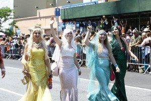 The 34th Annual Mermaid Parade with Queen Mermaid Hailey Clauson 29