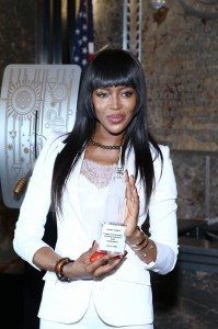 NAOMI CAMPBELL-RED NOSE DAY 25