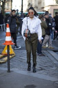 Paris Street Style at Day 1 of Fashion Week 59