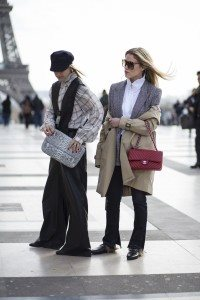 Paris Street Style at Day 1 of Fashion Week 33