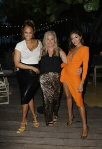 Tyra Banks, Camille Kostek, Rob Gronkowski and Olivia Culpo at SI Swimsuit Launch 27