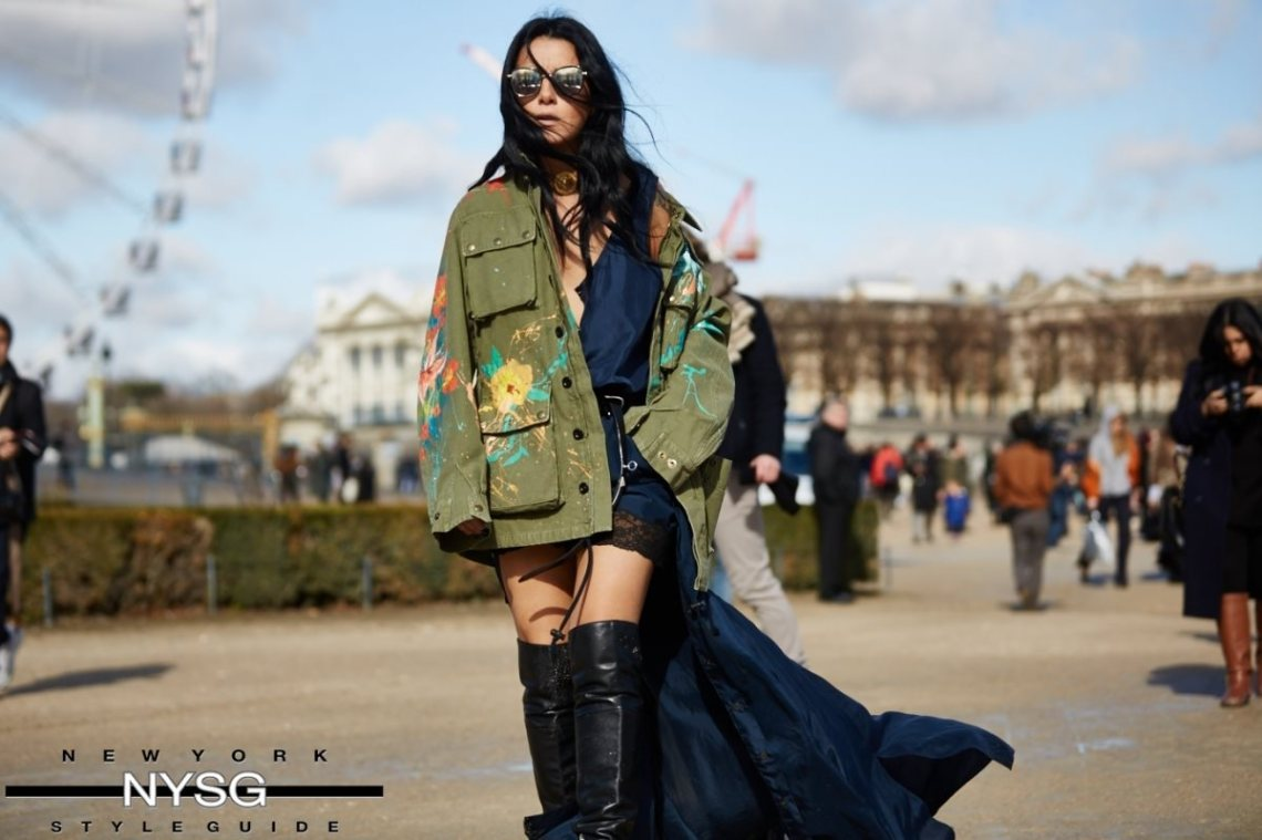 Caught on the Streets of Paris! Paris Fashion Week AW16 9