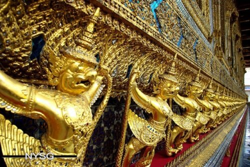The Famous Grand Palace in Bangkok Thailand 31