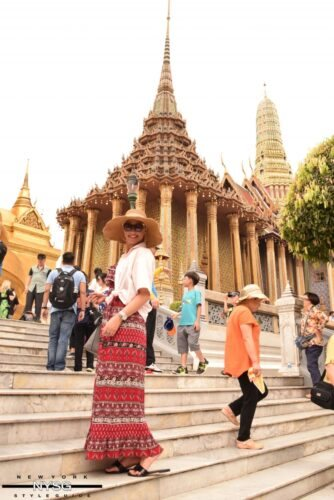 The Famous Grand Palace in Bangkok Thailand 29