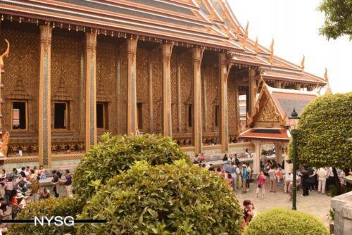 The Famous Grand Palace in Bangkok Thailand 21