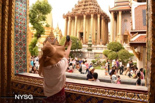 The Famous Grand Palace in Bangkok Thailand 15