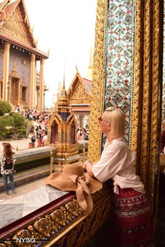 The Famous Grand Palace in Bangkok Thailand 13