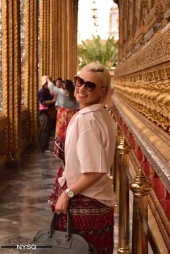 The Famous Grand Palace in Bangkok Thailand 9