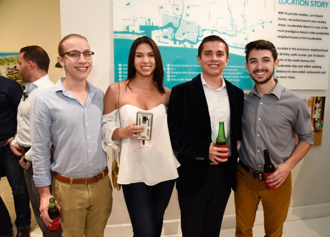Chase Gaiefsky, Natalia Ortiz, Eduardo Moscoso, and Chris Chookagian