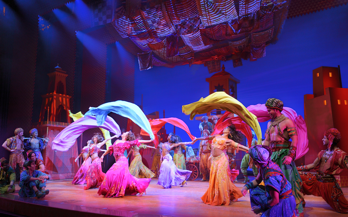 Aladdin Review A Genie Works His Magic On Broadway New York Theater