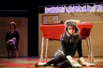 Susie Sokol as the self-hating cat butler