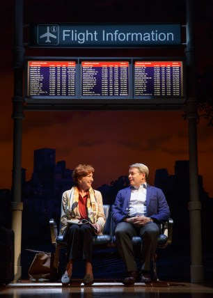 Julie White and Matthew Broderick