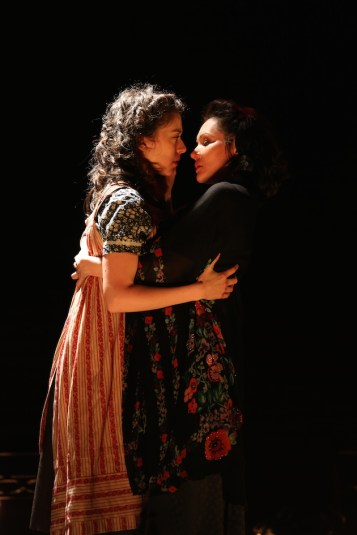 Indecent Adina Verson and Katrina Lenk. Photograph from the Off-Broadway production.