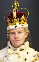Rory O'Malley as King George III