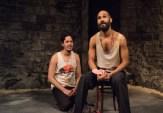 Flaco Navaja as Hugo and Luis Vega as El Mago