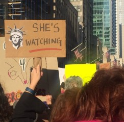 Women's March on New York City, January 21, 2017